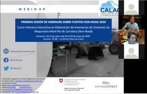 Webinar: Curso Inventario de Emisiones Maquinaria Non-Road