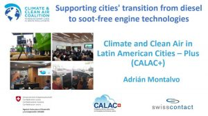 Supporting cities' transition from diesel to soot-free engine technologies